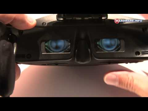 IFA 2011: Sony HMZ-T1 Personal 3D Viewer (raw video)