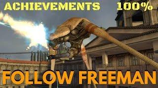 Half-Life 2 (100%) Walkthrough (Chapter 11: Follow Freeman)