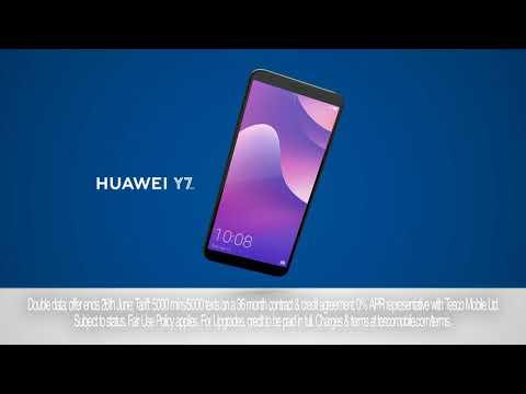 Huawei Y7   Tesco Mobile   Advert