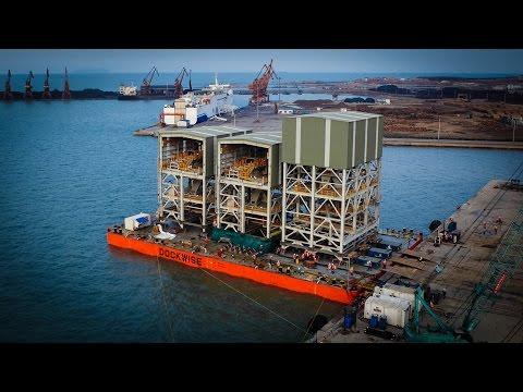 Dockwise Swan - F.S.P. Floating Super Pallet