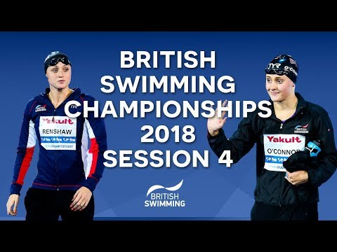 EISM inc. British Swimming Championships 2018 - Session Four