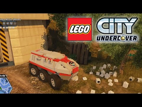 LEGO City Undercover - Lego Space Centre Gameplay Walkthrough part 14 (PC)