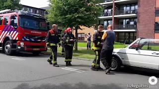 Bestuurder blust beginnende autobrand 23-05-18