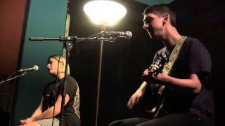 Tigers Jaw - Plane vs. Tank vs. Submarine / I Saw Water (acoustic)