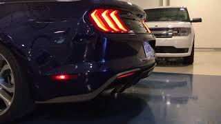 2018 Mustang GT with Active Valve Exhaust