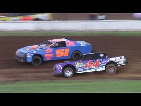 Pure Stock Heat Three | McKean County Raceway | 6-20-17