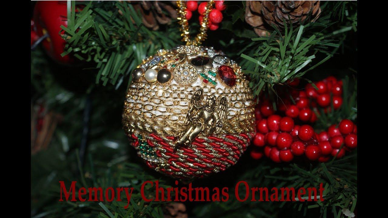 How to Make a Keepsake Christmas Ornament - YouTube
