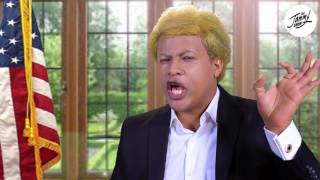Donald Trump's message to Africa - Funny Impression of Trump