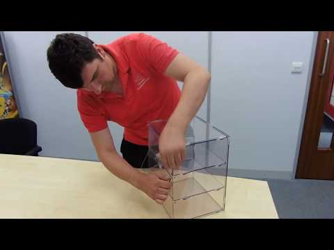 How to assemble a bakery case from Display Developments