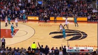 JEREMY LAMB HALF COURT GAME WINNING SHOT! Charlotte Hornets Beat Toronto Raptors 115-114 (CRAZY)