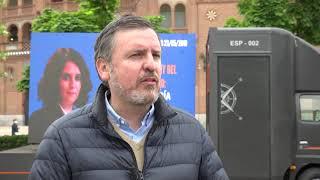HazteOir.org presenta los vehículos 'Vota Valores' para las elecciones del 4M en Madrid