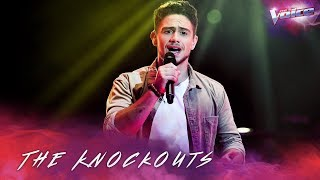 The Knockouts: Oskar Proy sings Supermarket Flowers | The Voice Australia 2018