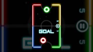 Glow Hockey/Modo Difícil/Esto si ya es IMPOSIBLE!! 😤😤😤