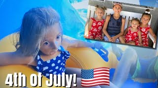LIFE AS WE GOMEZ 4TH OF JULY WEEKEND! / Water Parks, Sugar Cookies, Fireworks & More!