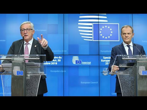Watch again: Donald Tusk and Jean-Claude Juncker answer questions on Brexit and EU Summit