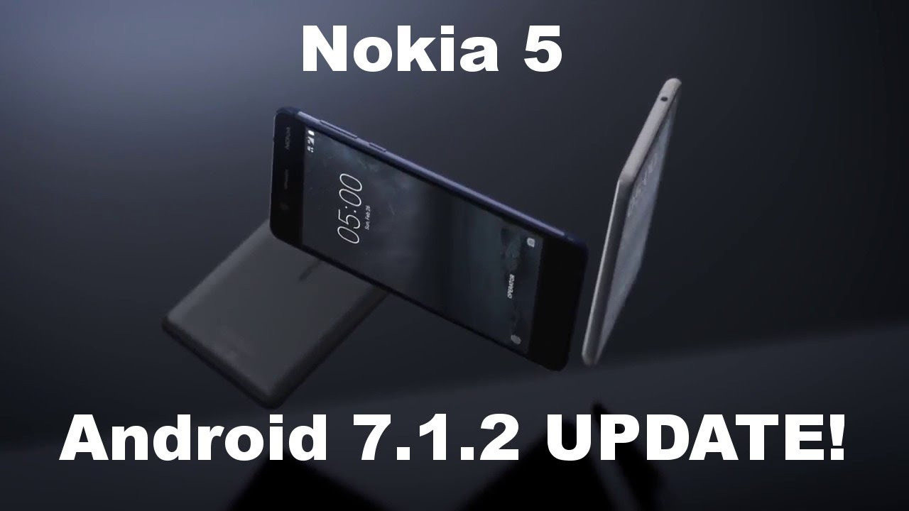 Nokia 5 - Android 7 1 2 Nougat Update!