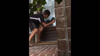 Ding dong ditching this crazy kid gone wrong