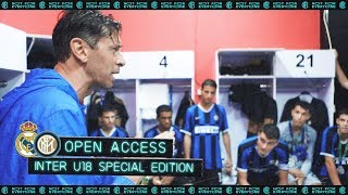 OPEN ACCESS | INTER U18 SPECIAL EDITION | REAL MADRID vs INTER @ BALI, INDONESIA 🇮🇩⚫🔵 [SUB ENG+ITA]