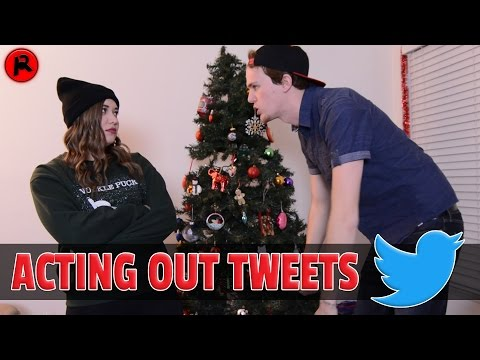 ACTING OUT TWEETS IN REAL LIFE (ft. Infinity on Hannah)