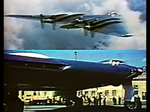 The Story of the Northrop YB- 49 Flying Wing - Restored Color - 1949