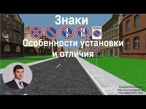 Как выглядит дорожный знак остановка запрещена