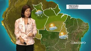 Previsão Norte – Tocantins muito quente e seco