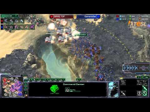 Sen (Z) vs Azubu Top (T) - TESL - Season Two Round Robin - StarCraft 2 - G2