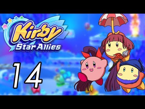 Let\'s Play Kirby Star Allies [14] Shiver Star