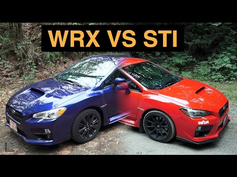 Subaru WRX Vs STI - 3 Reasons Why The WRX Is Better