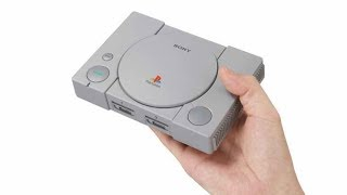 PlayStation Classic with 20 Pre-Loaded Games Revealed