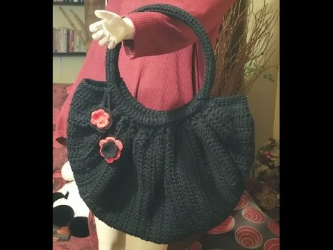 Tutorial Borsa Alluncinetto Fat Bottom Bag Crochet Fat Bottom