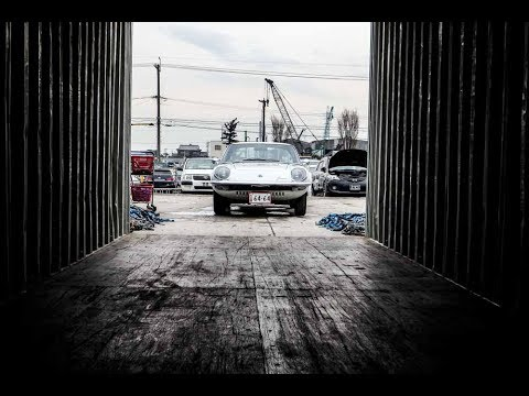 Special Delivery Mazda Cosmo Sport, Nissan Skyline GTR R32 at JDM EXPO