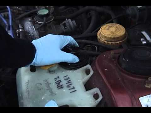 1995 Subaru Legacy L Outback DIY - fuel filter replacement - YouTube