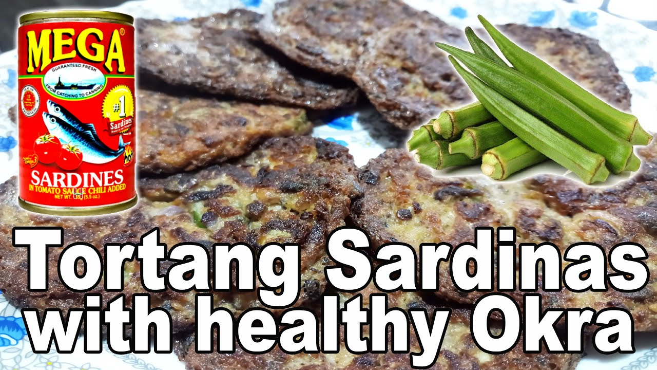 how to cook Tortang Sardinas with Okra