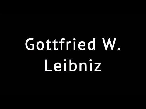 Gottfried W. LEİBNİZ