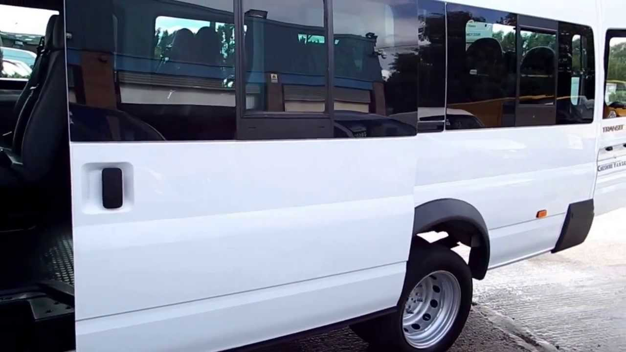 Ford Transit Van >> Ford Transit 17 Seat Minibus With Air Con *CHESHIRE VAN SALES* - YouTube