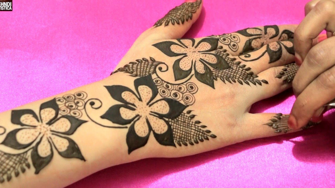Best Henna Designs: Gulf Mehandi Design Compilation Videos