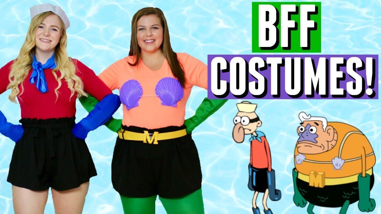 16 DIY Halloween Costume Ideas for Best Friends!
