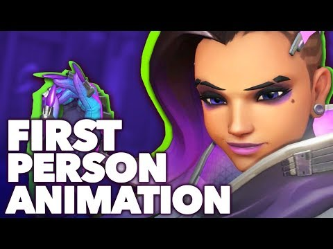 How Overwatch Conveys Character in First Person - YouTube
