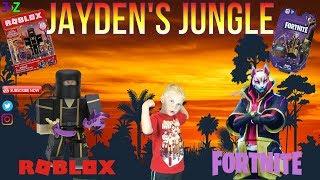 #3 della giungla di Jayden - Fortnite Drift e Roblox Action Figure UNBOXING