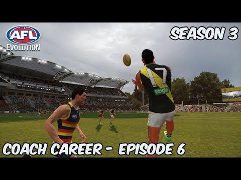 ROAD TRIP - AFL Evolution: Coach Career - Season 3 Episode 6