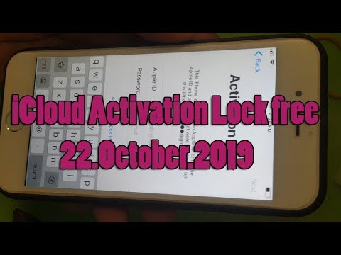 Delete iCloud Activation Lock Done! by DNS Server Fix High Success,New Method 22.October.2019