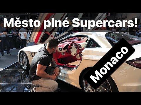 Neuvěřitelná auta na každém kroku! Monaco Supercar show Top Marques 2018!