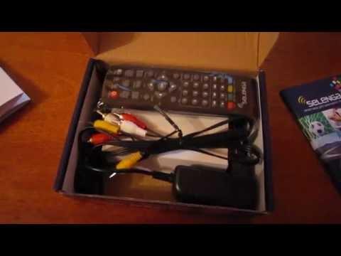 Цифровая ТВ приставка Selenga T71 - Распаковка, поиск каналов, обновление прошивки и ....