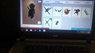 Showing you how to wear two mask in Roblox and two back accesercies