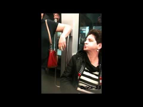 Deux dames se disputent dans le métro de rennes
