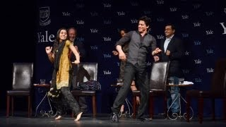 """Chammak Challo Dance"" - Shah Rukh Khan at Yale University as Chubb Fellow (Official Video)"