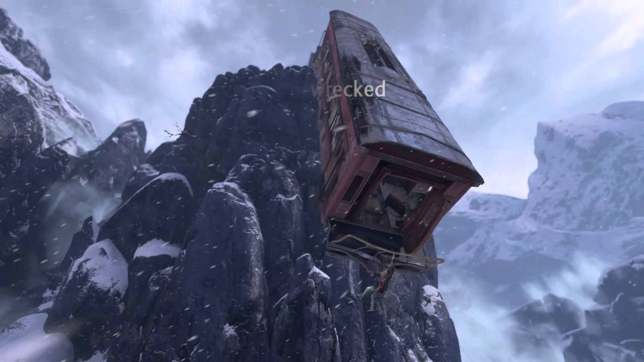 Image result for uncharted 2 train