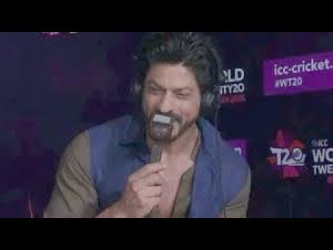 CT2017 IndvPak: Shah Rukh Khan in the commentary box