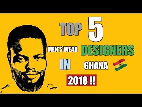TOP 5 MEN'S AFRICAN WEAR DESIGNERS IN GHANA 2018